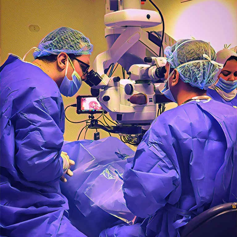 احدث اجهزة جراحات الشبكية فى العين