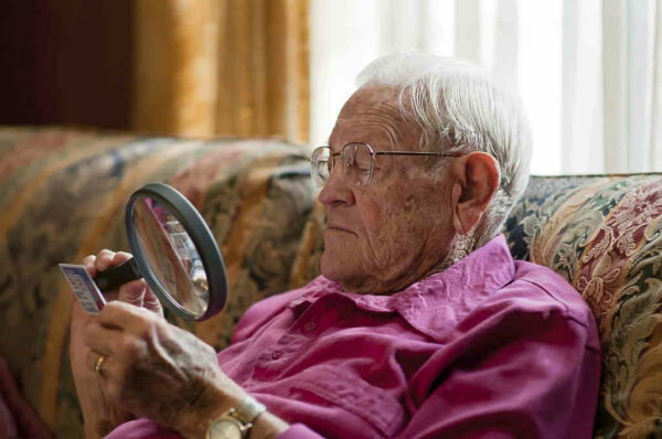 التنكس البقعي المرتبط بتقدم العمر